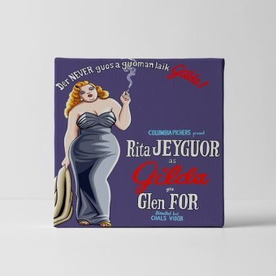Der never guos a guoman laik Gilda